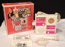 VINTAGE 1977 SUPER STAR BARBIE disco sing along radio WORKS ~ ILLCO TOY w/ BOX