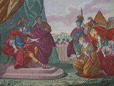 M. ENGELBRECHT ´JUDITH VOR HOLOFERNES; JUDITH BEFORE HOLOFERNES´ ALTKOLOR. ~1730