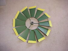 "REPLACEMENT 24"" FAN ONLY (Green/Yellow Tips) 8 ft Steel Windmills 24- 48-18D1-G"
