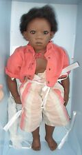 """Pemba: by Annette Himstedt; 22"""" vinyl limited edition doll from """"Summer Dreams"""""""