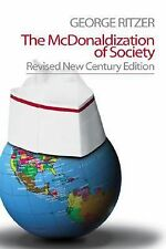The McDonaldization of Society, Ritzer, George, Acceptable Book