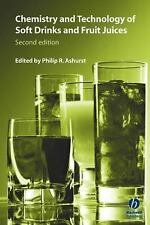 Chemistry & Technology of Soft Drinks & Fruit Juices hardcover book 2nd ed NEW