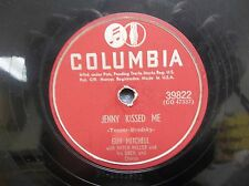 "78 RPM Record 10""-Guy Mitchell-Jenny Kissed Me & Feet Up-Columbia 39822"