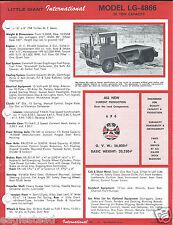 Equipment Brochure - Little Giant - LG-4866 4864 - Tractor Truck  (E3133)