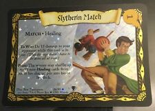 Harry Potter TCG Quidditch Cup Slytherin Match FOIL 26/80