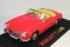 Maisto 1/18 Mercedes Benz 190 SL rot in OVP #1891