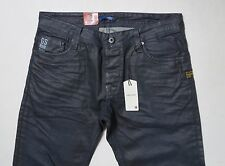 G-star Raw Attacc Low Straight Jeans 33 W x 36 Grime Denim Brand New with Tags