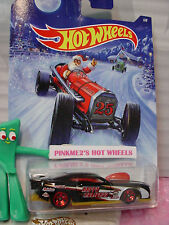 2014 Holiday Hot Rods #1 '10 PRO STOCK CAMARO∞Black❊Santa❊25∞Hot Wheels Walmart