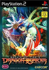 Used PS2 Breath of Fire V: Dragon Quarter   Japan Import (Free Shipping)