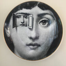 Porcelain Plate No 8 by Atelier Fornasetti