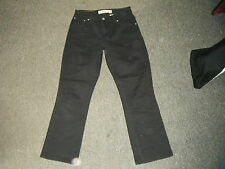 """Levi's 550 Relaxed Bootcut Jeans Waist 28"""" Leg 28.5"""" Black Faded Ladies Jeans"""