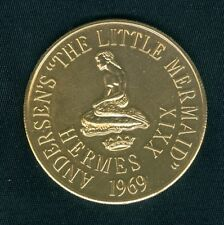 MERMAID - Disney The Little Mermaid Mardi Gras Doubloon Token Coin 1969