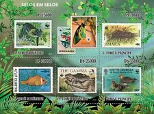 WWF Fauna endangered animals stamp on stamp Sao Tome 2010 MNH Sc. 2317 #ST10507a