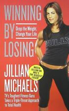 WINNING BY LOSING Soft Cover Book By JILLIAN MICHAELS 255 Pages HEALTH FITNESS