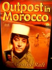 Outpost in Morocco (DVD, 2002) George Raft WORLDWIDE SHIP AVAIL