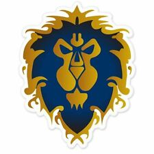 Alliance World of Warcraft WOW Vynil Car Sticker Decal   2.5""