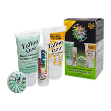 Tattoo Goo After Care Kit to Help Protect and Enhance Your New Body Art 4 PCS
