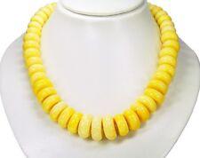 Schöne Halskette aus Korallen-Steinen in Radform L- 48,5 cm