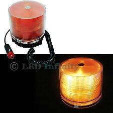 Car Truck Snow Plow Amber Yellow Flashing Emergency LED Strobe Light Flasher#76A