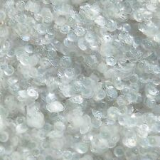 4mm Cup Sequins Light Crystal Shiny Rainbow Iris. Made in USA
