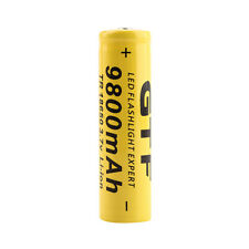 NEW 1pc 3.7V 18650 9800mAh Li-ion Rechargeable Battery For Flashlight Torch