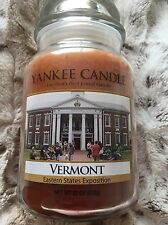 Yankee Candle Vermont Maple Pancakes Eastern States Exposition Jar Very Rare!!