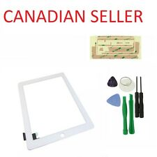 Touch Screen Glass Digitizer Replacement for iPad 2 White + Free Tools