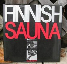 FINNISH SAUNA BOOK ALLAN KONYA HB DJ ©1987 LAYOUT MATERIALS DESIGN CONSTRUCTION