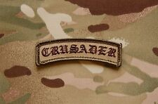 CRUSADER Tab Patch Multicam OCP Afghanistan Infidel AOR1 Special Forces Hook