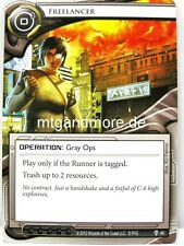 Android Netrunner LCG - 1x Freelancer  #040 - Trace Amount