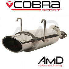 Cobra Sport Honda Civic Type R EP3 Exhaust Back Box Oval Tip Stainless Steel