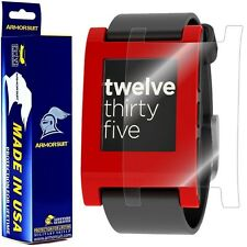 ArmorSuit MilitaryShield Pebble E-Paper Smartwatch Screen Protector [2-Pack] NEW