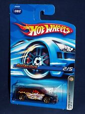 Hot Wheels 2006 Bone Blazers Series #082 Audacious Mtflk Dark Blue w/ Gold Y5s
