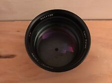 Carl Zeiss Planar 85mm f/1.4 C/Y (Adapted to Canon EF) Contax MMG Lens