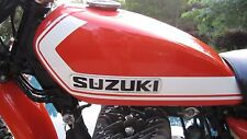 STRIP ORANGE Custom Mix Paint for Suzuki Motorcycles- AEROSOL - TS250 Savage