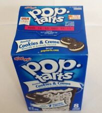 Kelloggs Pop tarts Frosted Cookie & Creme 8 toaster pastries 400g