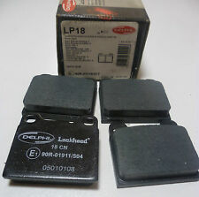 Delphi LP18 Front / Rear Brake Pads - 61.8mm - High Quality OE Replacements -