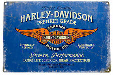 Vintage Style Metal Sign Harley Davidson Motor Bar Pub Garage Wall Decor Plaques