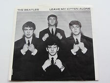 THE BEATLES   LEAVE MY KITTEN ALONE PICTURE SLEEVE  UNREALESED