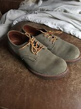Red Wing 8056 Work Casual Shoe Oxford Made In USA 9.5 Men's