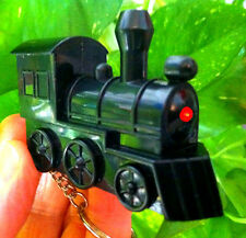 STEAM TRAIN LOCOMOTIVE REALISTIC SOUND KEYCHAIN and light, Mexican Dominoes gift
