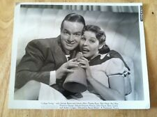 BOB HOPE AND MARTHA RAY COLLEGE SWING ADVERTISING PHOTO 1938