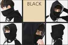 HERC Men and Womens Multi Winter Neck Warmer Face Mask Fleece Hood Snood Scarf
