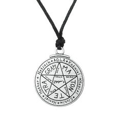 Wiccan Talisman Love Tetragrammaton Seal of Solomon Pentacle Pendant Necklace