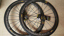 Mavic cosmic pro carbon SL road racing bike bicycle wheelset 700C shi/sram 10/11