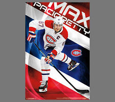 MAX PACIORETTY Montreal Canadiens CAPTAIN CANADIEN Official NHL Action POSTER