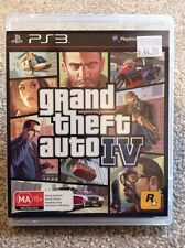 Grand Theft Auto IV 4 GTA Ps3 Game Sony *BRAND NEW Not Sealed* AUS Stock
