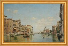 View of the Grand Canal of Venice Federico Del Campo Italien Venedig B A3 01737