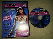 From Asia With Lust: Vol 2 - Double Feature - Lipstick/Weekend DVD 790357091003