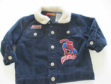 Spiderman Boys Cordoroy Jacket  Infant Size 18 Month Adorable Pre-owned Cond